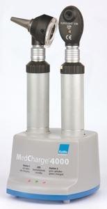 Пример зарядки офтальмсокопа и отоскопа