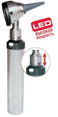Отоскоп Евролайт ФО 30 3,5В ЛЭД заряд от аккумулятора