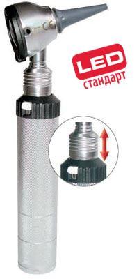 Отоскоп Евролайт ФО 30 2,5В ЛЭД