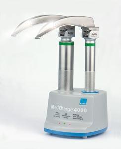 Пример зарядки фиброоптического ларингоскопа