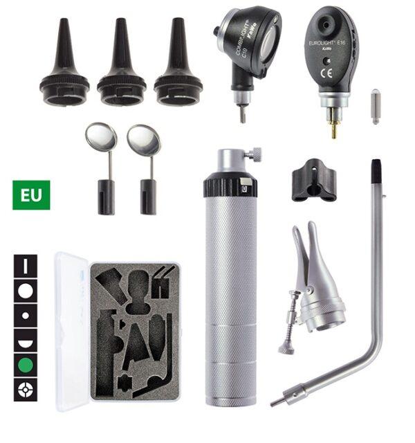 Диагностический набор KaWe Бейсик С10 / Е16 (офтальмоскоп 6 апертур и отоскоп с принадлежностями)