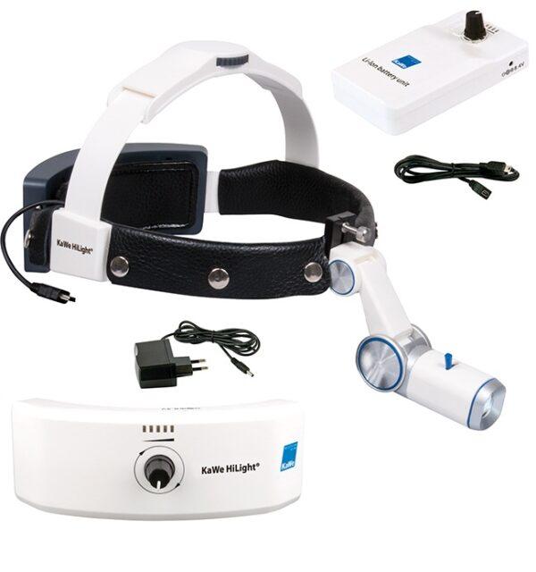 Налобный осветитель HiLight LED H-800 KaWe. Набор 3