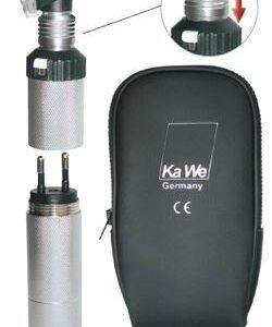 Отоскоп KaWe Комбилайт ФО 30 3,5В (фиброоптический) заряжается от сети (Германия)