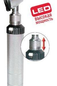 Отоскоп KaWe Евролайт ФО 30 LED 3,5В высокой мощности (фиброоптический)