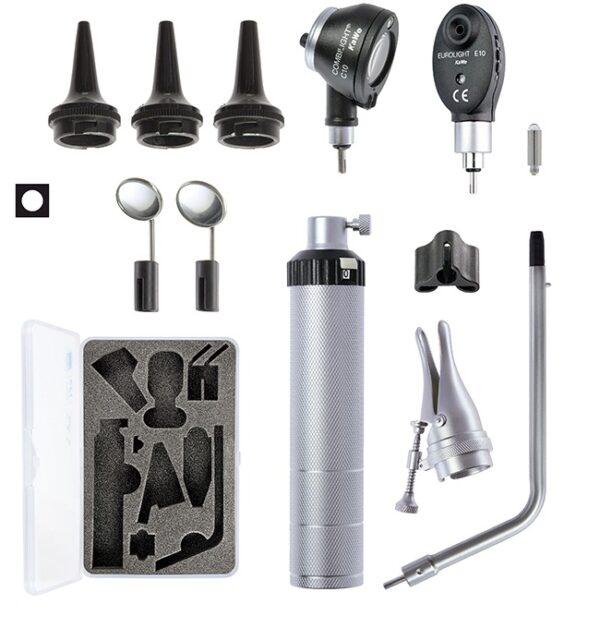 Диагностический набор KaWe Бейсик С10 / Е10 (офтальмоскоп 1 апертура и отоскоп с принадлежностями)